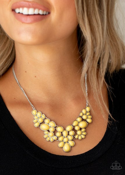 Bohemian Banquet Yellow Necklace