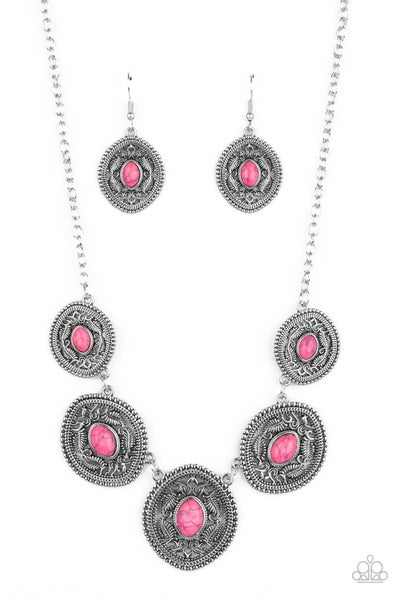 Alter Eco Pink Necklace