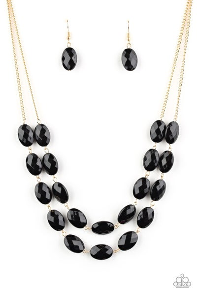 Max Volume Black Gold Necklace