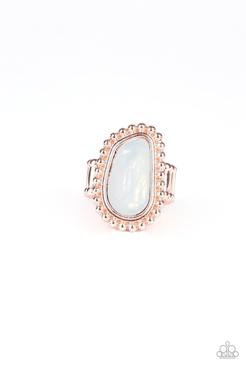 For Ethereal Rose Gold Ring