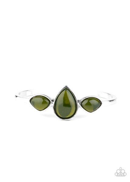 Boho Beach Babe Green Bracelet