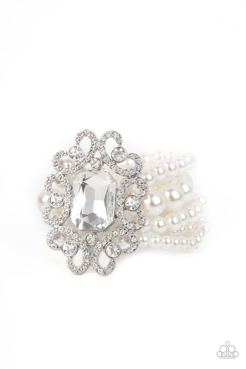 Rule The Room Pearl Bracelet