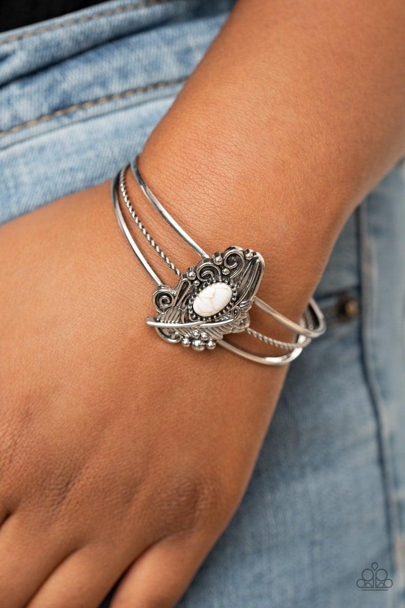 Sahara Solstice White Bracelet