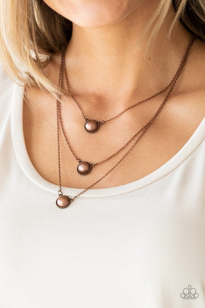 A Love For Luster Copper Necklace