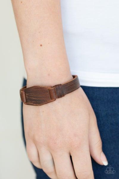 Plainly Pioneer Brown Urban Bracelet