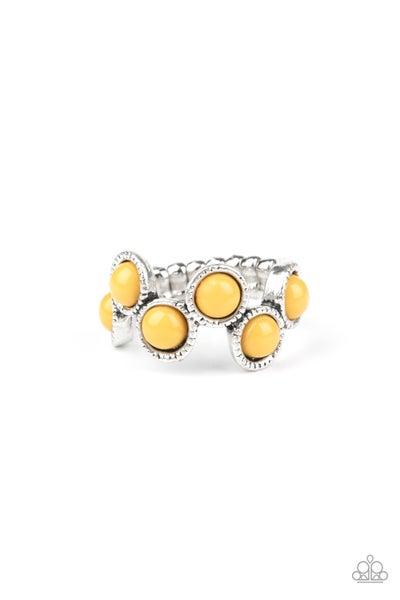 Foxy Fabulous Yellow Ring