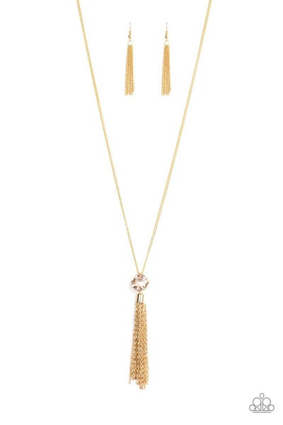 Five-Alarm Firework Gold Necklace