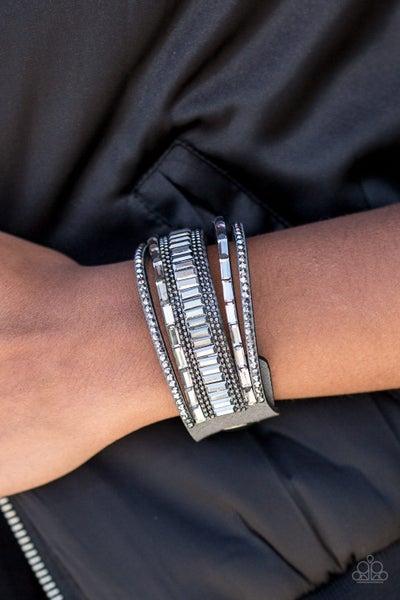 Spectacular Shimmer Silver Bracelet