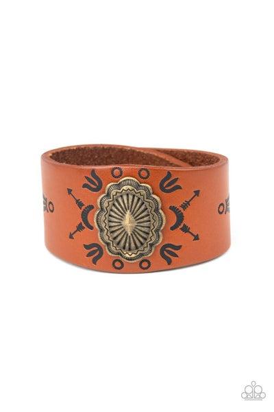 Desert Badlands Brass Urban Bracelet