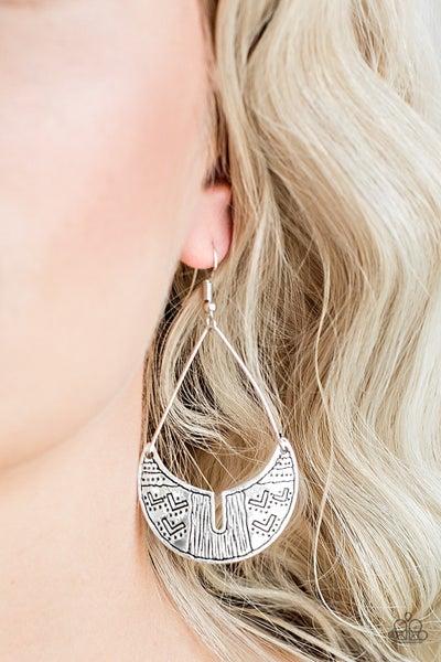 Trading Post Silver Earrings