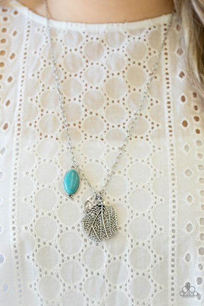 Free-Spirited Forager Turquoise Necklace