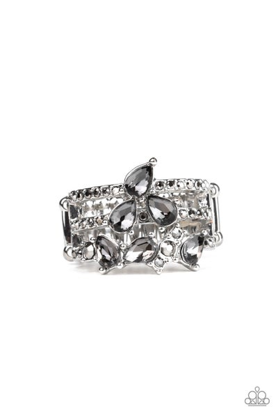 Blink Back Tiers Silver Ring
