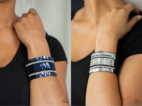 MERMAID Service Blue Silver Bracelet