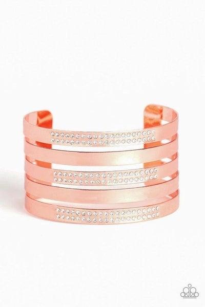 Big Time Shine Copper Bracelet