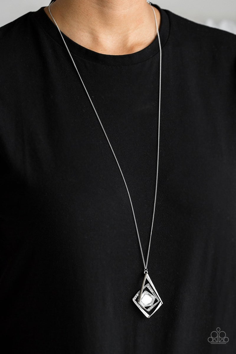A Modern Citizen White Necklace