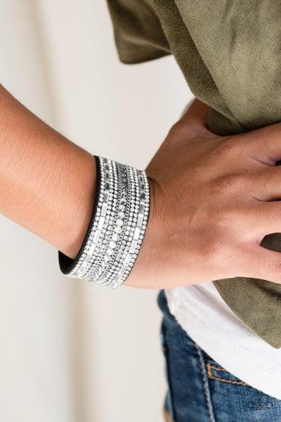 Rebel Radiance Black Bracelet