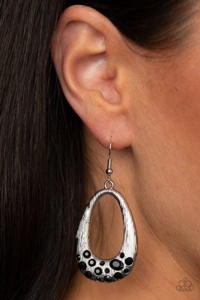 Better LUXE Next Time Black Earrings