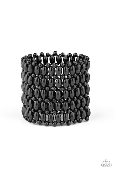 Way Down In Kokomo Black Black Bracelet
