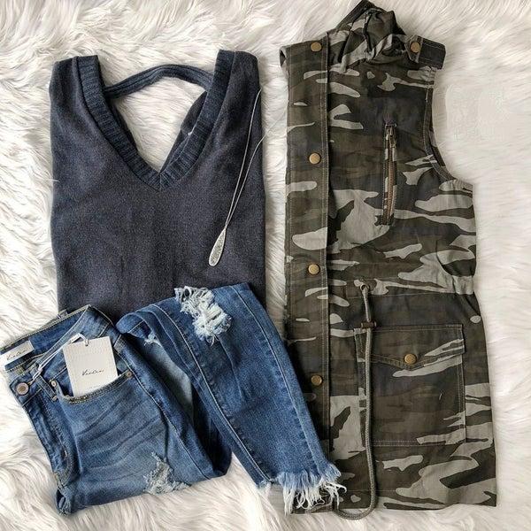Camo Vest *Final Sale*