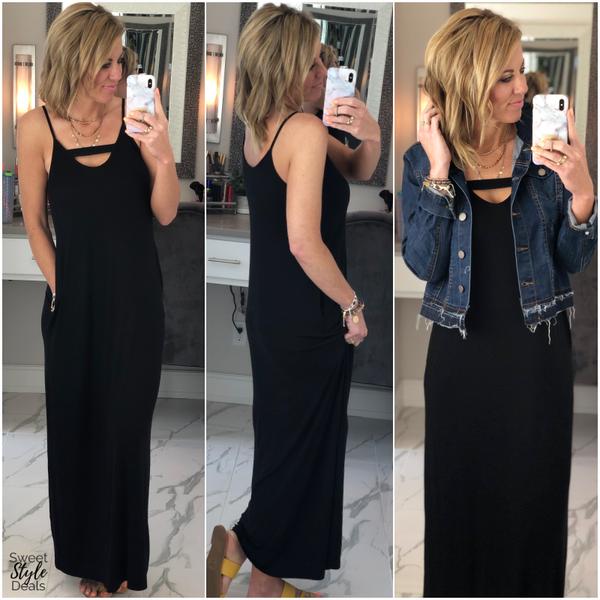 Black Maxi Dress (April Collection)