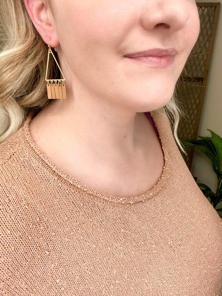 Getting fancy, huh... - earrings