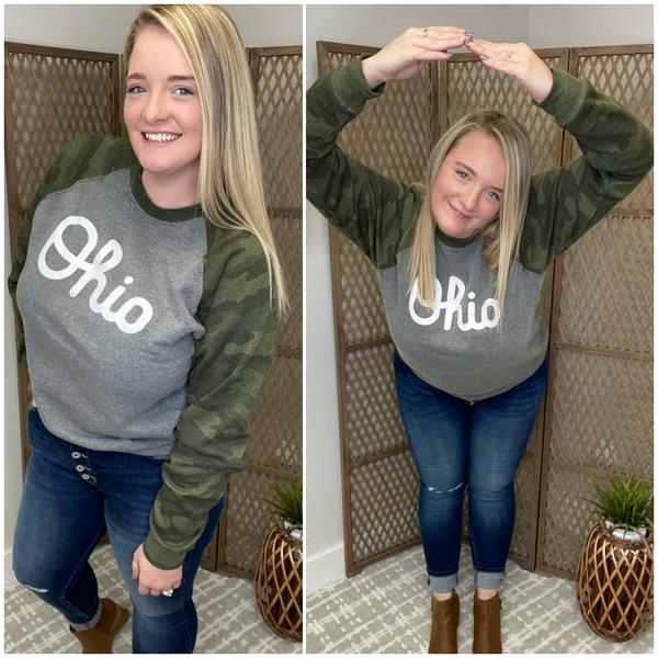 Ohio Camo Sweatshirt