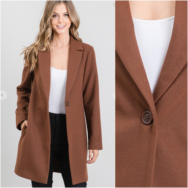 Dark Roast Classic Coat