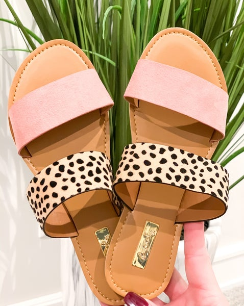 Blush Dot Sandals *Final Sale*
