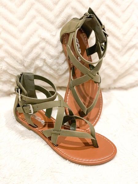 Strappy Gladiator Sandal (FINAL SALE)