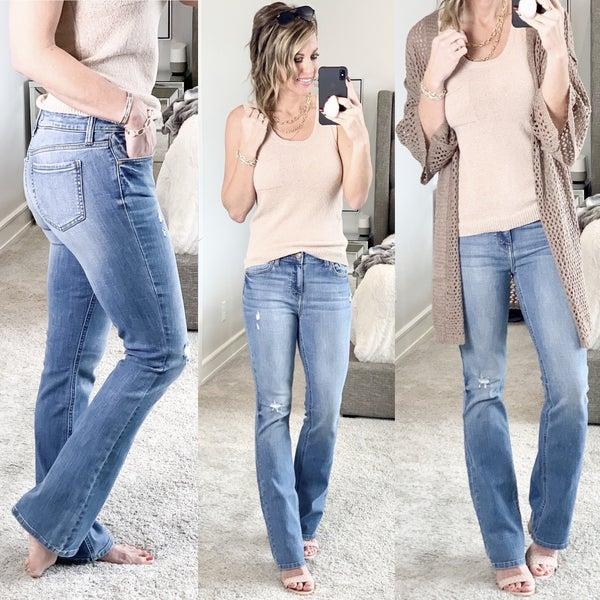 Boss Babe- Bootcut Jeans *Final Sale*