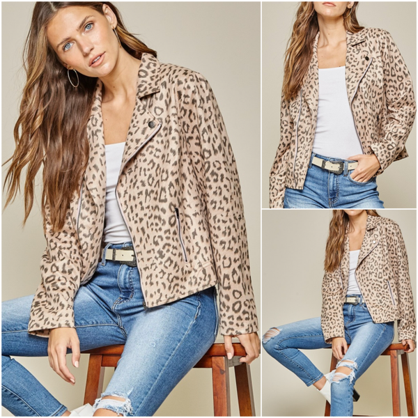 Blush Leopard Jacket