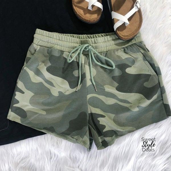 Camo Comfy Shorts *Final Sale*