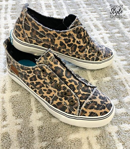 Cheetah Blowfish Sneakers