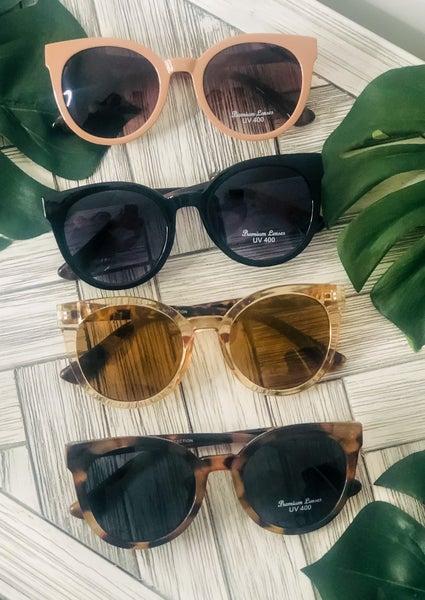 large sunglasses