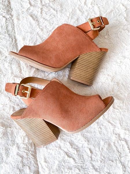 Hazel Peep Toe Heels  *Final Sale*
