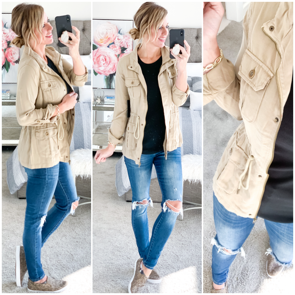 The Lorelai Jacket- 2 Colors!