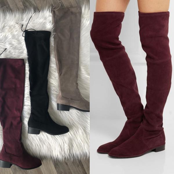 Suede OTK Boots (FINAL SALE) *Final Sale*