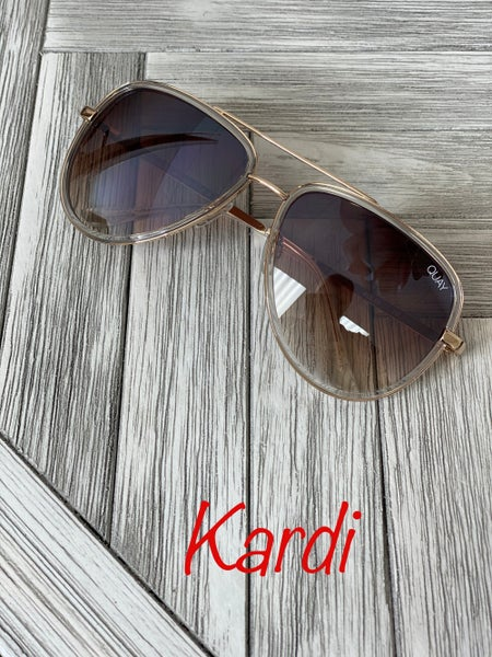 Swanky sunglasses