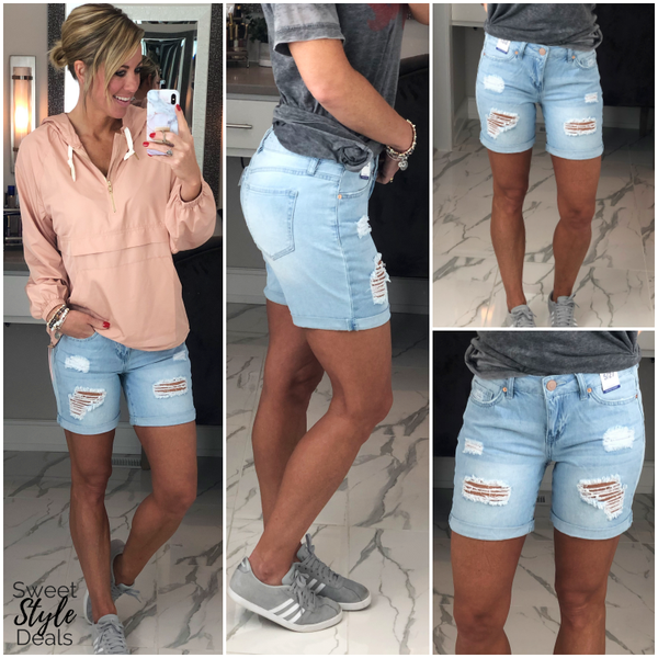 Dream Denim Shorts (May Collection)