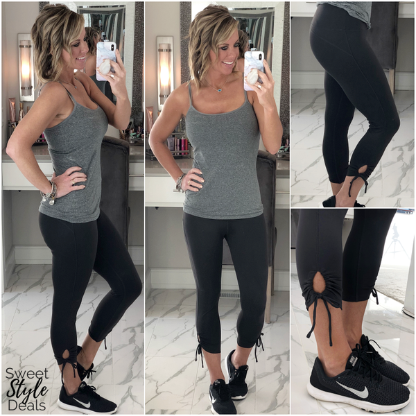 Buttery Soft- Cinched Leggings *Final Sale*