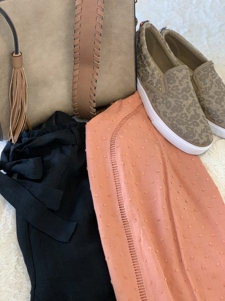 Tie Linen Shorts - 2 Colors *Final Sale*
