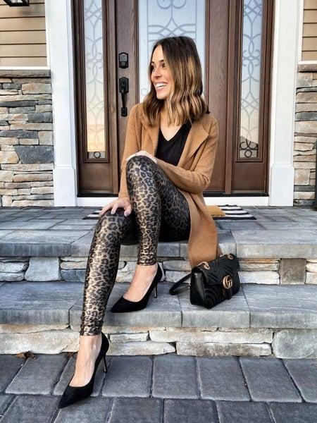 Metallic Leopard leggings - SPANX