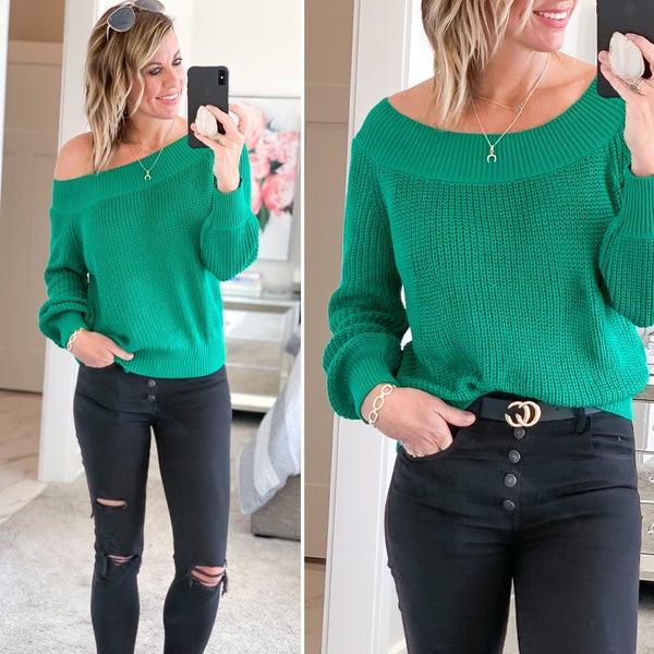 Green Goddess Sweater