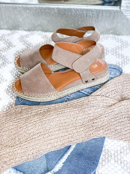 Playful in my Platform Sandal