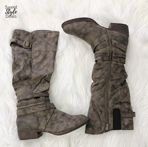 Darling Stone Boots