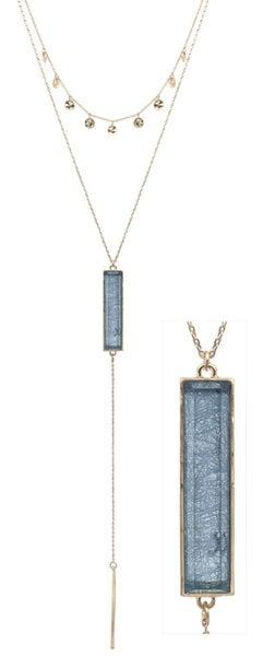 Let it Lay Necklace (2 Colors)