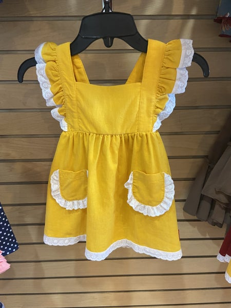 Millie Jay Mustard Corduroy Dress