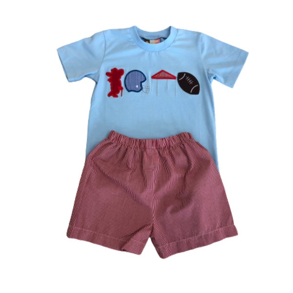 Banana Split Boys Football Shorts Set