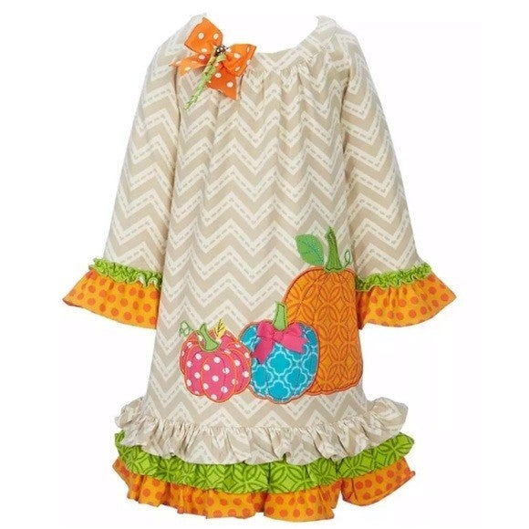 3 Pumpkin Dress