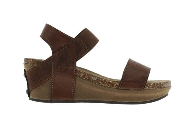 Girls OTBT Inspired Wedges-Brown